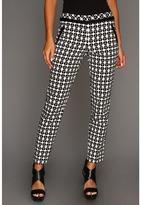 Trina Turk De Janeiro Pant (Black/White) - Apparel