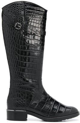Högl Croc-Effect Riding Boots
