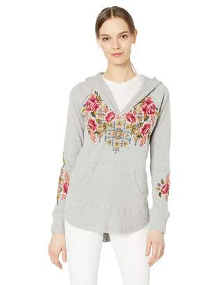 Johnny Was Jwla By JWLA By Women's Hooded Thermal with Embroidery