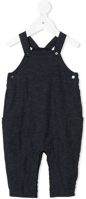 Knot Straight-Leg Dungaree Trousers