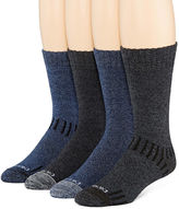 Dickies Mens 4-Pk. Crew Socks