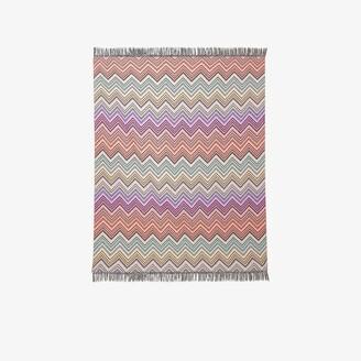 Missoni Home multicoloured Perseo zigzag throw