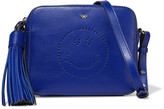 Anya Hindmarch Smiley perforated leather shoulder bag
