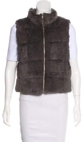 Pologeorgis Fur Puffer Vest
