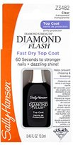 Sally Hansen Treatment Diamond Flash Fast Dry Top Coat, 3482, 0.45 Fluid Ounce