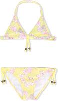Sunuva - floral print bikini - kids - Polyamide/Spandex/Elastane - 2 yrs