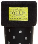 Joules New Womens Black Welton Polyester Welly Socks