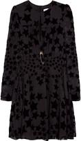 Sonia Rykiel Star devoré-chiffon dress