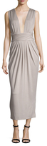 Torn By Ronny Kobo Pleated Sheath Dress