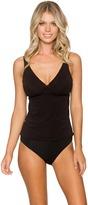 Sunsets Swimwear - Audrey Apron-Back Bikini Top 86TBLCK