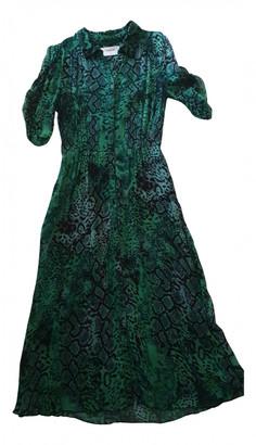 BA&SH Spring Summer 2020 Green Viscose Dresses