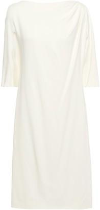 Lanvin Gathered Stretch-cady Dress