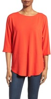 Eileen Fisher Women's Jersey Bateau Neck Tee