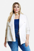 Fashion to Figure Nora Sherpa Cardigan