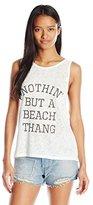 Billabong Juniors Beach Thang Muscle T-Shirt with U Back Detail