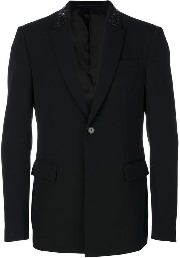 Givenchy beaded collar blazer
