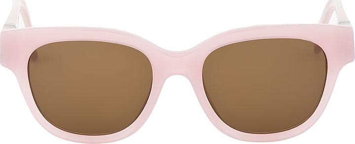 Mykita Pink Sherbet Mafalda Sunglasses