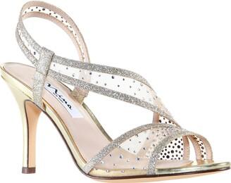 Nina Valeda Crystal Embellished Sandal