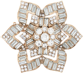 Accessorize Crystal Flower Brooch