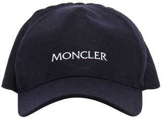 Moncler Logo Embroidered Cap