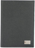Dolce & Gabbana rectangular fold out passport holder - men - Leather - One Size