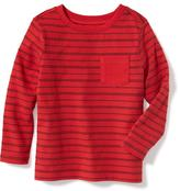 Old Navy Crew-Neck Pocket Tee for Toddler