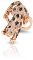 Effy Jewelry Effy Signature 14K Rose Gold Diamond and Emerald Ring, 1.70 TCW