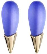 Alexis Bittar Liquid Metal Capped Spike Post Earrings