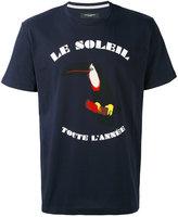 Paolo Pecora 'le soleil' print T-shirt - men - Cotton - S
