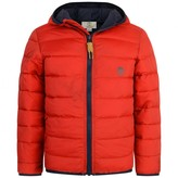 Timberland TimberlandBoys Red Hooded Puffer Coat