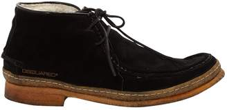 DSQUARED2 \N Black Suede Lace ups