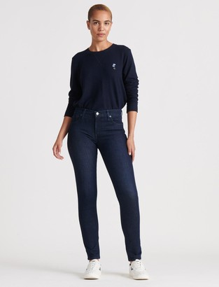Lucky Brand Mid Rise Ava Skinny Jean