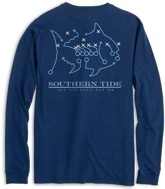 Southern Tide UNC Tarheels Skipjack Long Sleeve T-Shirt