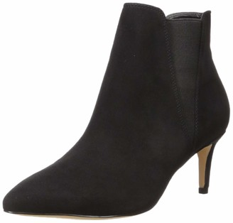 The Drop Women's Stella Pull-on Kitten Heel Boot