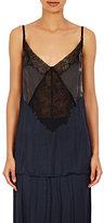 Nina Ricci Women's Mixed-Fabric Cami-BLACK, BLUE, NAVY