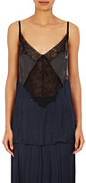 Nina Ricci WOMEN'S MIXED-FABRIC CAMI