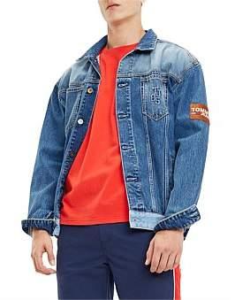 Tommy Jeans Oversized Trucker Jacket Crmxb