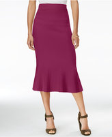 Rachel Roy Jacquard Midi Skirt, Only at Macy's