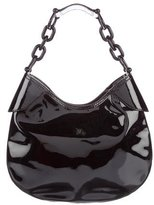 Burberry Patent Leather Hobo