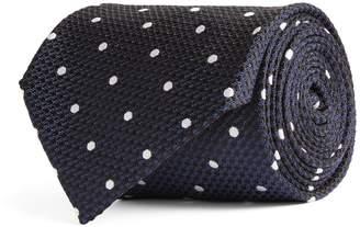 Tom Ford Silk Polka-Dot Tie