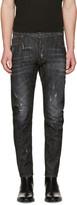 DSQUARED2 Black Tidy Biker Jeans