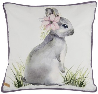 Donna Sharp Forget Me Not Bunny Decorative Pillow