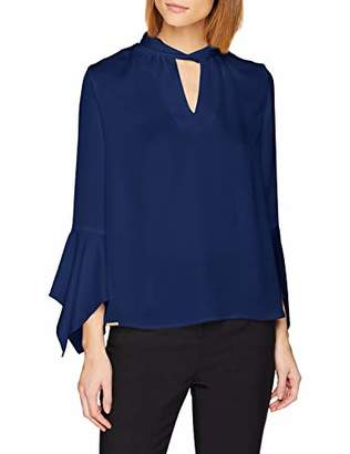 Hannibal Laguna Women's Blues Blouse, Off-(Size:)