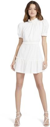 Alice + Olivia Vida Puff Sleeve Mini Dress