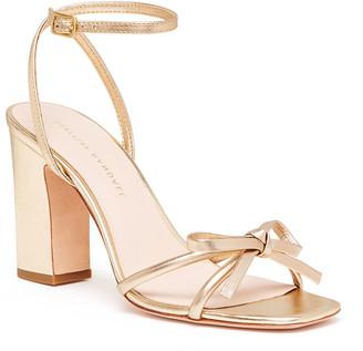 Rebecca Taylor Loeffler Randall Maeve Knot Bow Ankle Strap Heel Sandal