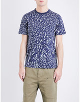 Christopher Raeburn Shark-print cotton-jersey T-shirt