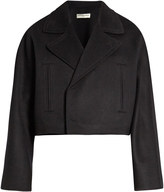 Balenciaga Double-faced wool cropped jacket