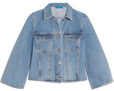 MiH Jeans Arch Cropped Denim Jacket
