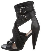 Isabel Marant Leather Cage Sandals