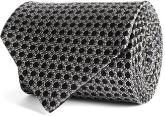 Tom Ford Silk Polka-Dot Pocket Square